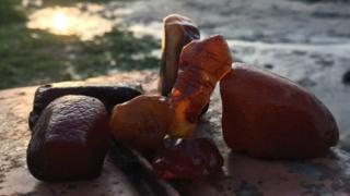 Вопрос добычи янтаря в Украине до сих пор не урегулирован