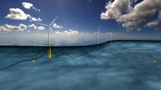 Hywind floating wind farm