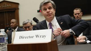FBI Director Christopher Wray appears before the House Judiciary Committee December 7, 2017 in Washington, DC
