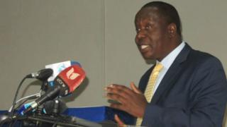 kaimu waziri wa usalama nchini Kenya Fred Matiangi