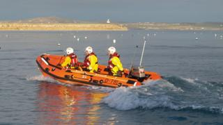 Holyhead's new inshore RNLI lifeboat
