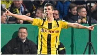 Kiungo wa kati wa Borussia Dortmund Christian Pulisic