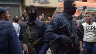 полиция в Александрии