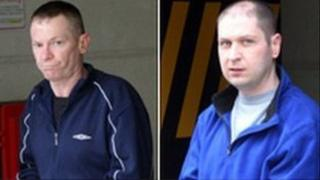 Convicted killers Charles O'Neill and William Lauchlan