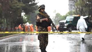 L'explosion a secoué tôt mercredi le quartier diplomatique de Kaboul, faisant au moins 80 morts.