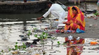 The Ganges and Yamuna rivers are worshipped by millions, but they are also heavily polluted