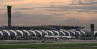 Suvarnabhumi airport, Bangkok