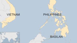 Map of Basilan