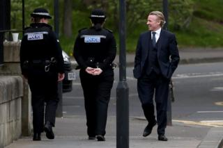 Craig Whyte arrives at the High Court in Glasgow