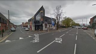 The man was attacked the Upper Newtownards Road, near Holland Drive