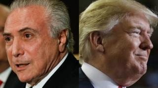Temer e Trump