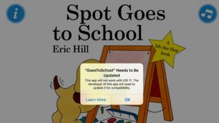 Spot Goes to School app