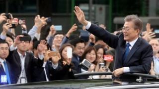 رئيس كوريا الجنوبية الجديد مون جاي إن