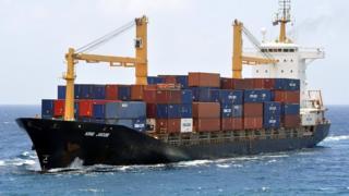 King Jacob cargo ship