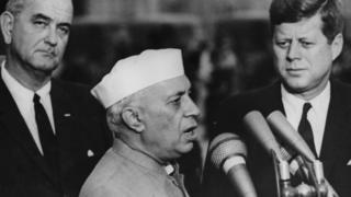 केनेडी और नेहरू