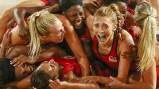 The England netball team