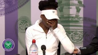 Venus Williams na kuka