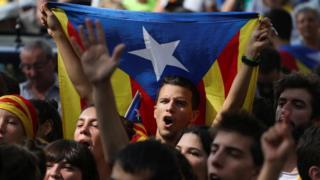 Акция на Барселоне