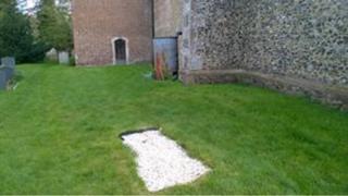 the unexplained grave