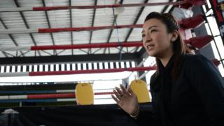 Pariyakorn Ratanasuban is one of Thailand's only female Muay Thai promoters