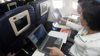Пассажиры китайской авиакомпании