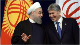 Хасан Роухани Кыргызстандын көз карандысыз саясатын сыйлайбыз деди