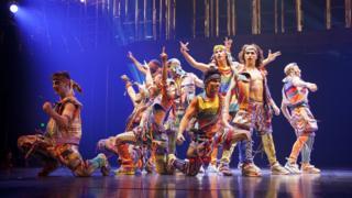 Artistas del Cirque du Soleil (Foto: Cortesía Cirque du Soleil)