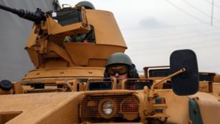 Zırhlı araç ve Türk askeri