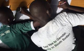 Children in Juba