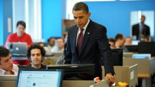 Обама и компьютеры