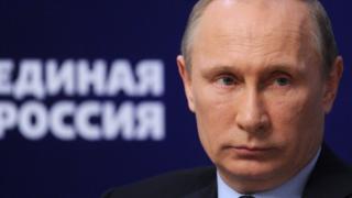Putin bakıyor