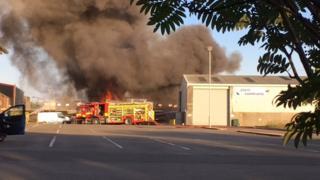 Paisley fire