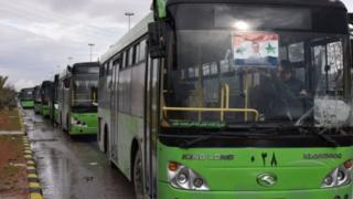 Evakuatsiya avtobuslari
