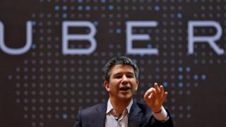 Uber'in patronu Travis Kalanick