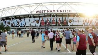 West Ham waliutumia uwanja huo kwa mara ya kwanza mwezi Agosti