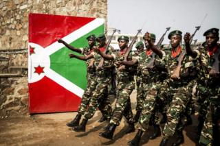 Ingabo z'u Burundi