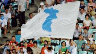 ธงรวมชาติเกาหลี เป็นสัญลักษณ์แห่งความปรารถนาของเกาหลีเหนือและเกาหลีใต้ ที่จะยุติการแบ่งแยกที่ยาวนานเกือบ 70 ปี