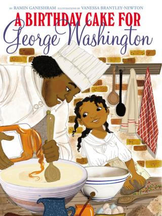 A Birthday Cake for George Washington cover