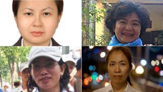 Một số nữ tù nhân lương tâm của Việt Nam