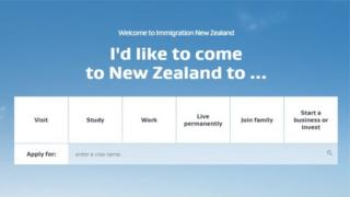 Immigration New Zeland sitesi