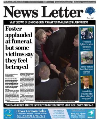 News Letter front page 24 March