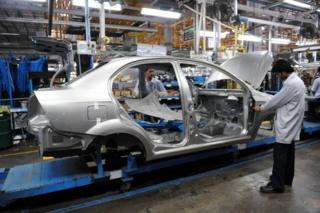 GM car factory India