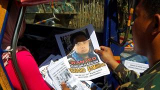 Police handout of Isnilon Hapilon