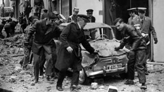 El ataque bomba que mató al Primer Ministro español Luis Carrero Blanco en diciembre de 1973.