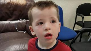This child was found in Connah's Quay