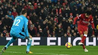 Mohamed Salah amaze kwinjiriza Liverpool ibitsindo 26 uno mwaka
