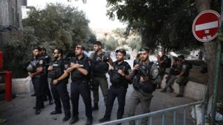 عناصر من الجيش الاسرائيلي