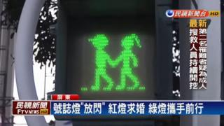 Taiwan traffic light in Pingtung