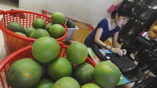 Online sale in Vietnam