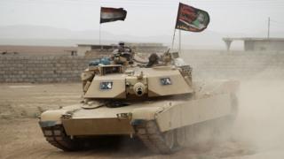 Tanque iraquí